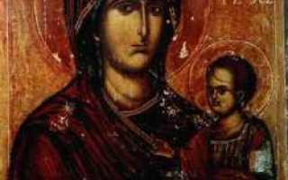 Попская икона божией матери