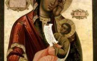 Утоли моя печали — древо, икона божией матери утоли моя печали