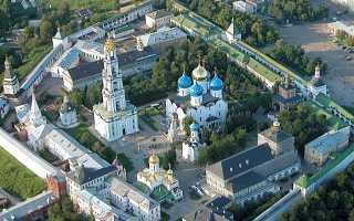 Сергиев радонежский монастырь