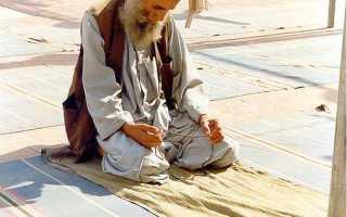 Время утренней молитвы