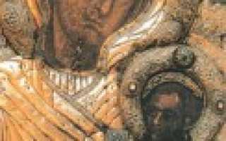Иверская икона божьей матери история