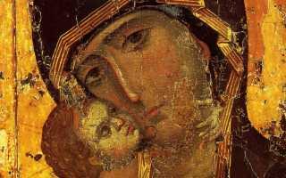 Икона Владимирской Божией Матери, день празднования, значение
