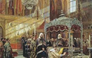 Должности в церкви православной