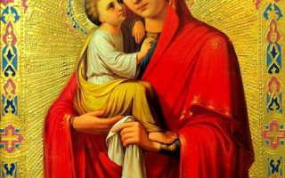 Молитва о сыне материнская сильная богородице