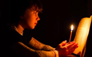 Молитвы на ночь православные читать