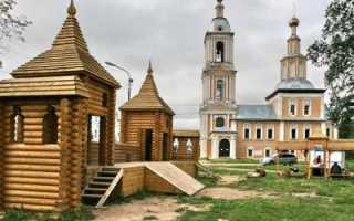 Церковь казанской божьей матери