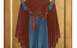 Молитва нерушимая стена: молитвы перед иконой Богородицы