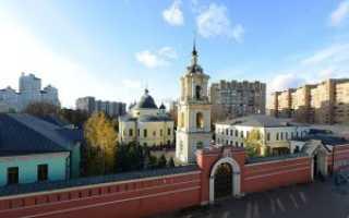 Храм матроны московской в москве официальный сайт