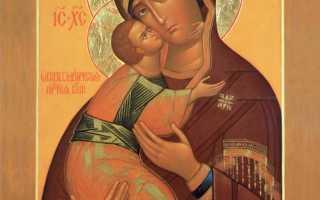 Владимирская икона божией матери: значение, в чем помогает