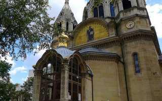 Православная церковь в париже
