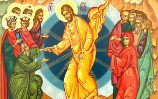 Воскресение христово видевше текст молитвы с ударением