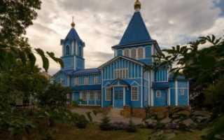 Церковь николая чудотворца ессентуки