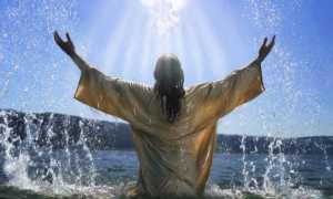 При купании в крещение какую молитву читать