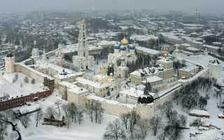 Радонежский сергиев собор