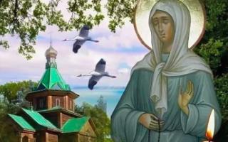Икона матроны московской в чем помогает
