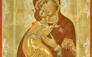 Материнская молитва за чадо свое текст