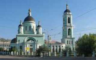 Храм сергия радонежского в рогожской слободе