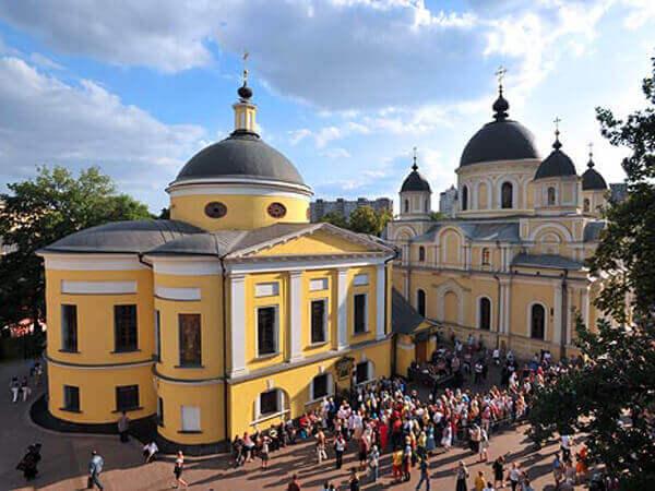 Храм Матроны Московской Покровского монастыря, Москва ...